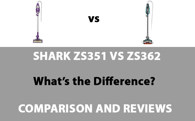 Shark ZS351 vs ZS362
