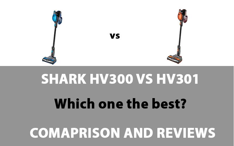 Shark HV300 vs HV301