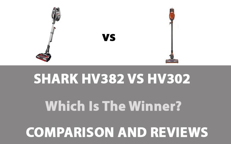 Shark HV382 vs HV302