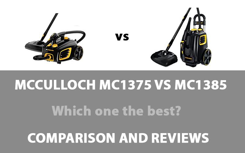McCulloch MC1375 vs MC1385