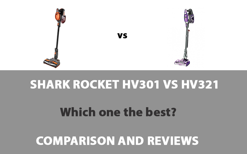 Shark Rocket HV301 vs HV321