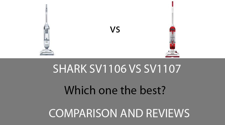 Shark SV1106 vs SV1107
